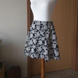Joe B Floral Mini Skirt